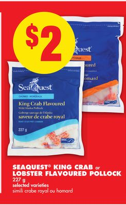 Seaquest King Crab or Lobster Flavoured Pollock