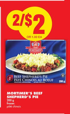 Mortimer's Beef Shepherd's Pie