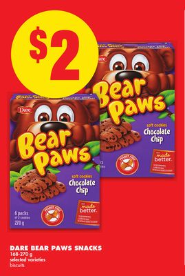 Dare Bear Paws Snacks