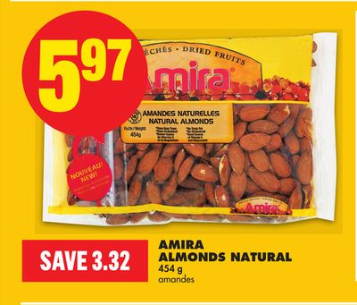 Amira Almonds Natural