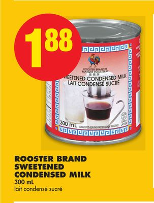 Rooster Brand Sweetened Condensed Milk