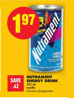 Nutrament Energy Drink