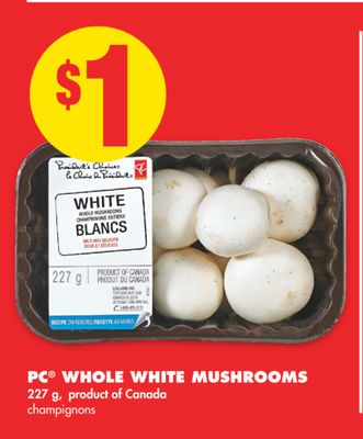 PC Whole White Mushrooms