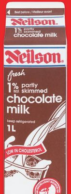 Neilson Chocolate or Strawberry Milk1 L