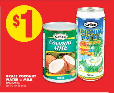 Grace Coconut Water or Milk