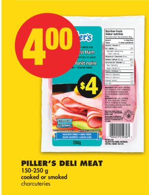 Piller's Deli Meat - 150-250 g