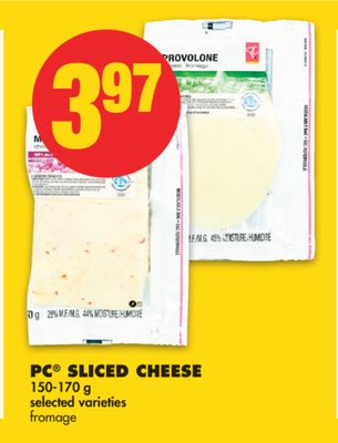 PC Sliced Cheese