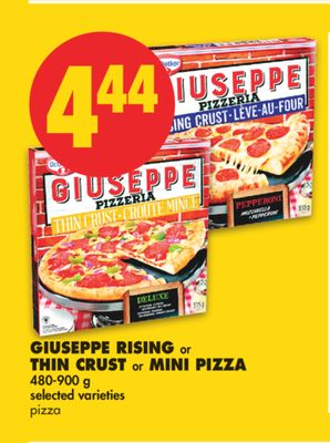 Giuseppe Rising or Thin Crust or Mini Pizza - 480-900 g