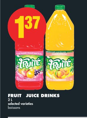 Fruité Juice Drinks - 2 L
