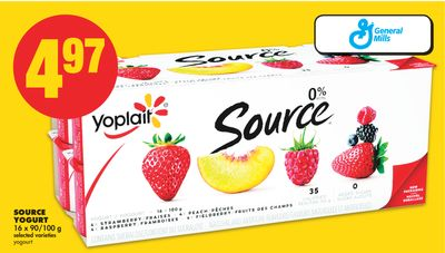 Source Yogurt - 16 X 90/100 g