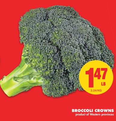 how to cook broccoli crowns