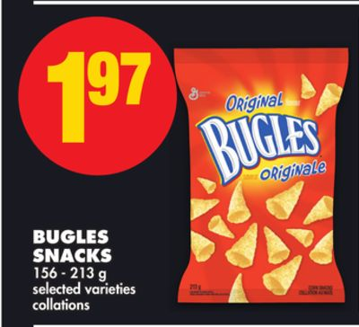 Bugles Snacks - 156 - 213 g