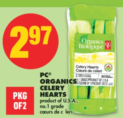 PC Organics Celery Hearts - Pkg Of 2