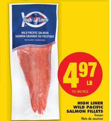 High Liner Wild Pacific Salmon Fillets