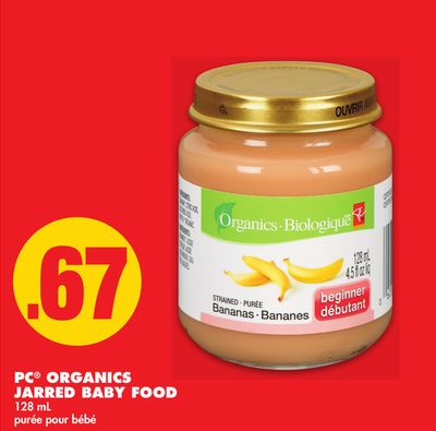 PC Organics Jarred Baby Food - 128 mL