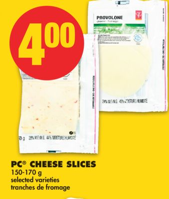 PC Cheese Slices.150-170 g