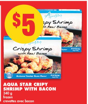 Aqua Star Crispy Shrimp With Bacon - 340 g