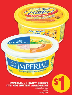 Imperial or I Can't Believe It's Not Butter! Margarine - 454 g