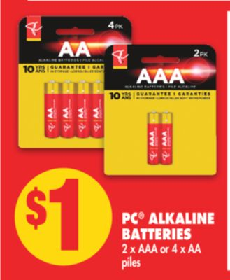 PC Alkaline Batteries