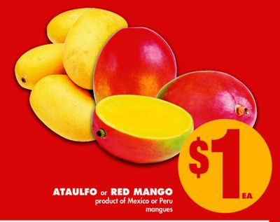 Ataulfo or Red Mango