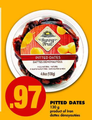Pitted Dates - 130 g