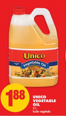 Unico Vegetable Oil - 2 L