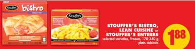 Stouffer's Bistro - Lean Cuisine or Stouffer's Entrees - 170-340 g
