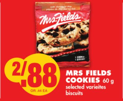 Mrs Fields Cookies 60 g