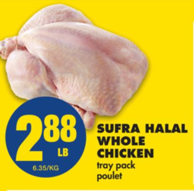 Sufra Halal Whole Chicken