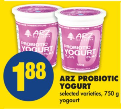 Arz Probiotic Yogurt - 750 g