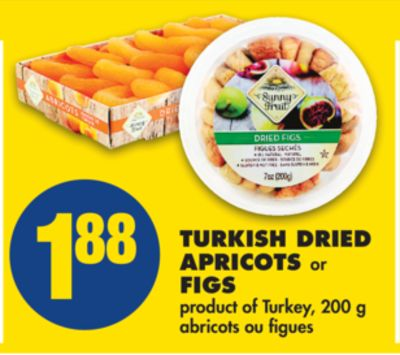 Turkish Dried Apricots or Figs - 200 g