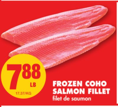 Frozen Coho Salmon Fillet