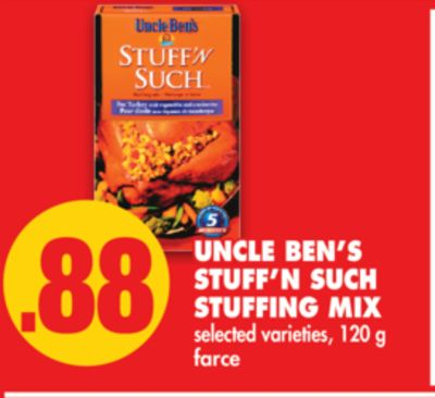 Uncle Ben's Stuff'n Such Stuffing Mix - 120 g