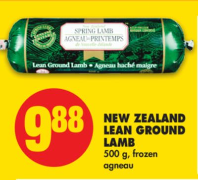 New Zealand Lean Ground Lamb - 500 g