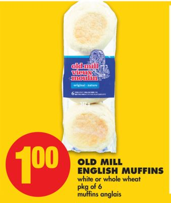 Old Mill English Muffins - Pkg of 6
