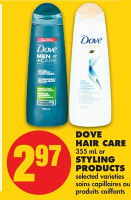 Dove Hair Care 355 mL or Styling Products