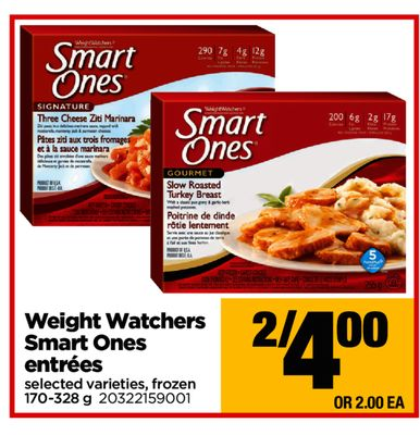 Weight Watchers Smart Ones Entrées - 170-328 g