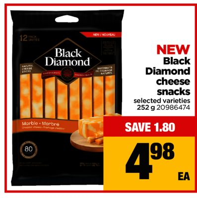 Black Diamond Cheese Snacks - 252 g