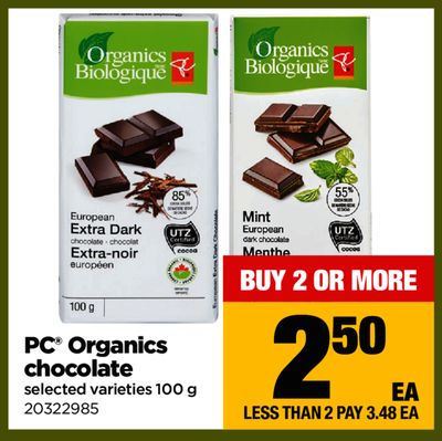 PC Organics Chocolate