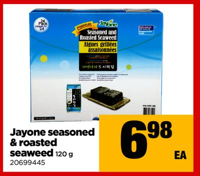Jayone Seasoned & Roasted Seaweed - 120 g