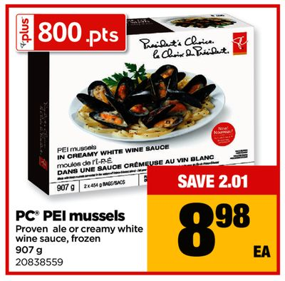 PC Pei Mussels - 907 g