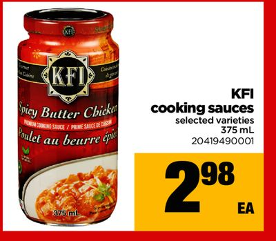 Kfi Cooking Sauces - 375 mL