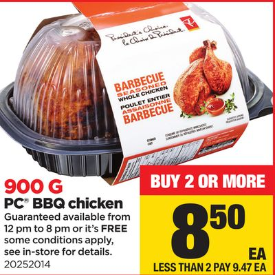 PC Bbq Chicken - 900 G