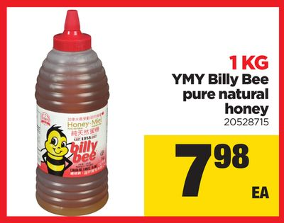Ymy Billy Bee Pure Natural Honey - 1 Kg