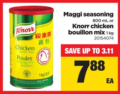 Maggi Seasoning - 800 mL - Knorr Chicken Bouillon - 1 Kg