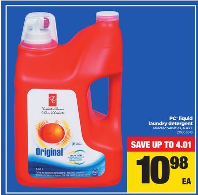 PC Liquid Laundry Detergent - 4.43 L