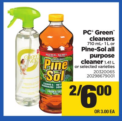 PC Green Cleaners - 710 Ml- 1 L Or Pine-sol All Purpose Cleaner - 1.41 L