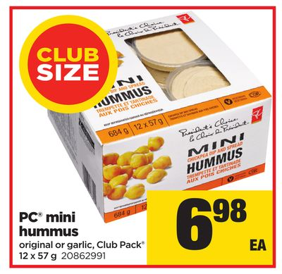 PC Mini Hummus - 12 X 57 g