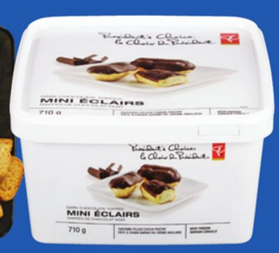 PC Profiteroles Or Mini Eclairs - Frozen - 490-710 g