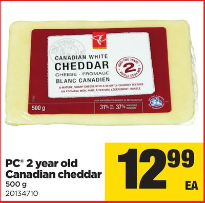 PC 2 Year Old Canadian Cheddar - 500 g